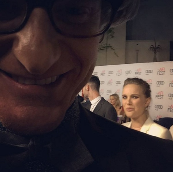 Marc Malkin, Instagram, Natalie Portman