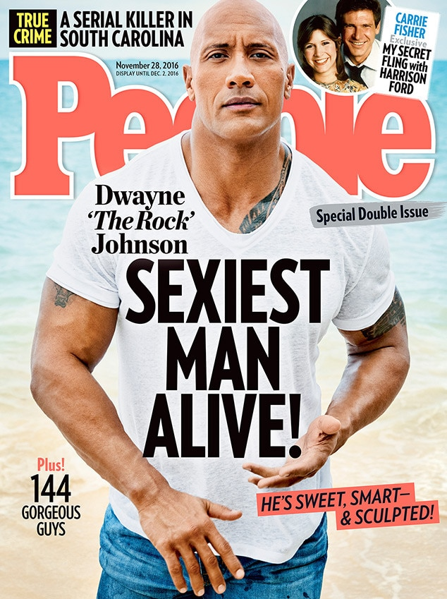 Dwayne Johnson, People, Sexiest Man Alive