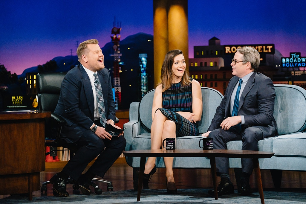 James Corden, Mandy Moore, Matthew Broderick, The Late Late Show