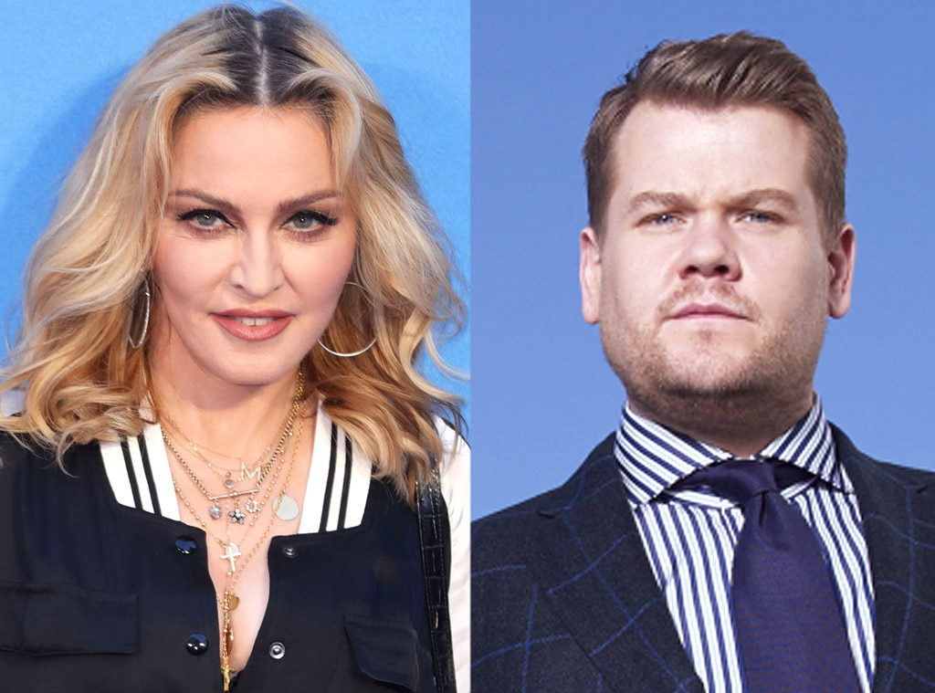 Madonna Is Doing Carpool Karaoke With James Corden