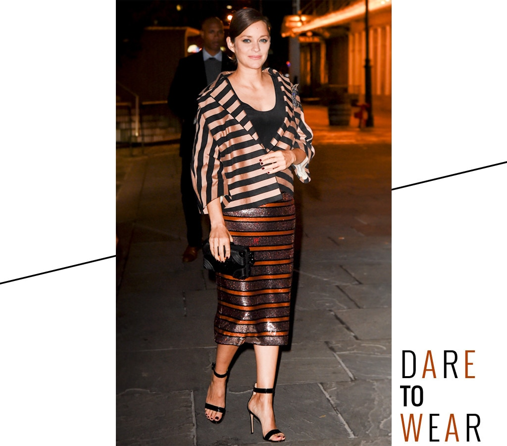 ESC: Dare to Wear, Marion Cotillard