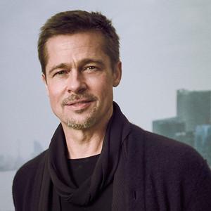 Brad Pitt All Smiles During Solo Trip to China | E! News  Brad Pitt