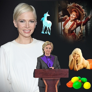 Going to the Movies, Michelle Williams