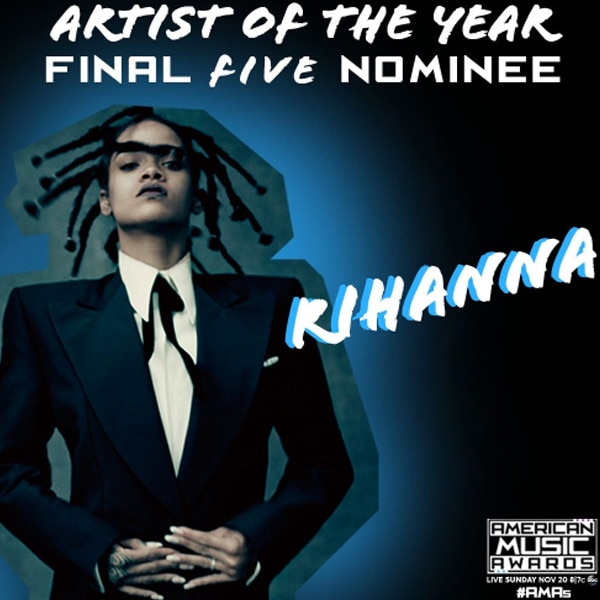 Rihanna, AMAs, American Music Awards
