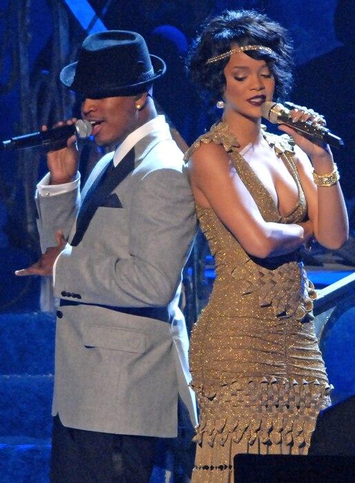 Ne-Yo, Rihanna, American Music Awards, 2007