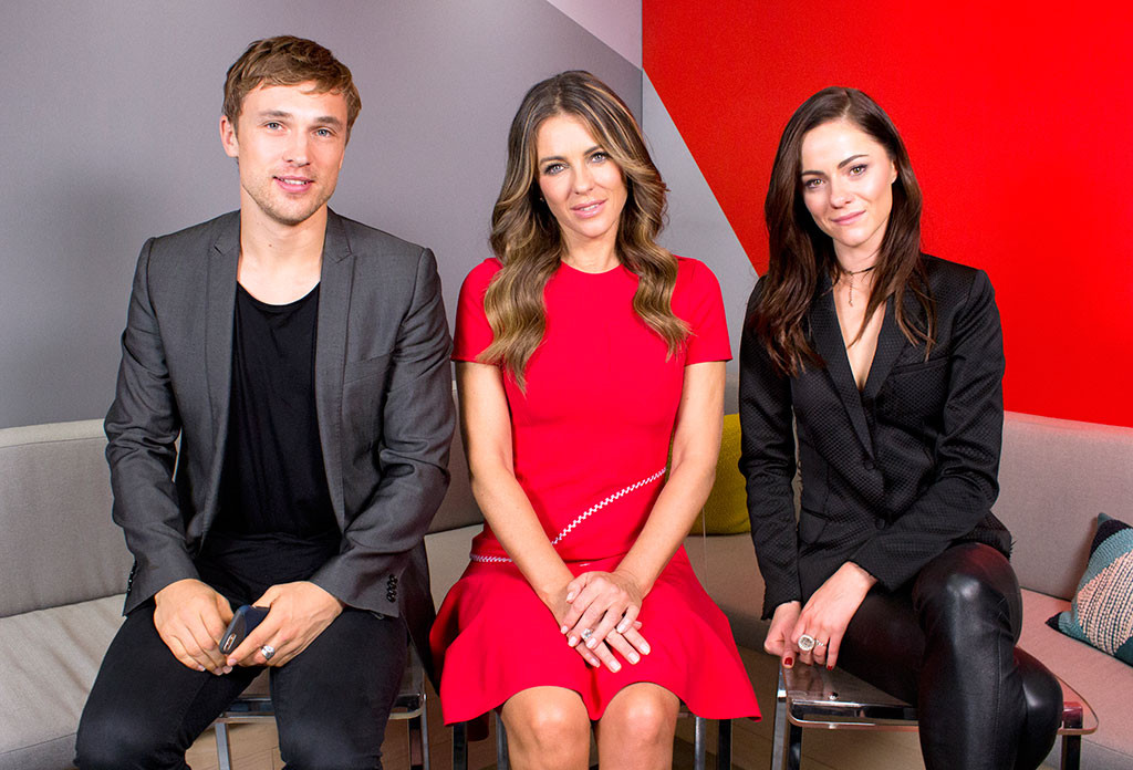William Moseley, Elizabeth Hurley, Alexandra Park