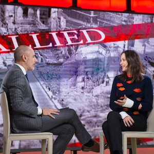 Marion Cotillard, Matt Lauer, Today