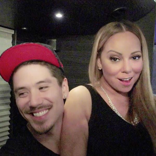 Mariah Carey's Backup Dancer Bryan Tanaka Has a ''Huge Crush'' on Her in Fabulous New <i>Mariah's World</i> Promos