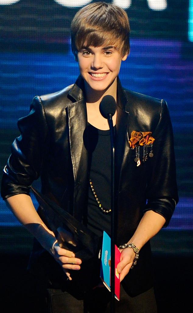Justin Bieber, American Music Awards 2010