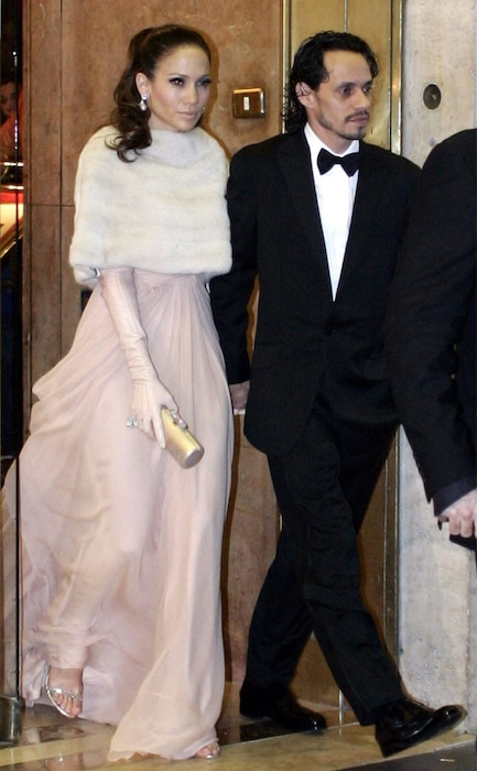 Jennifer Lopez Marc Anthony Tom Cruise Katie Holmes Wedding