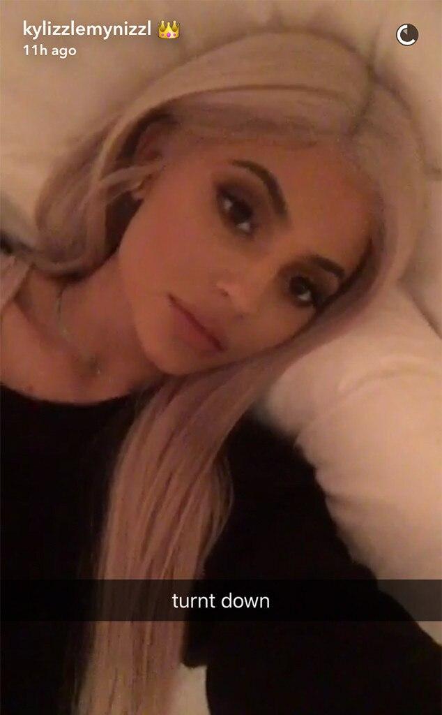 Kylie Jenner, Tyga's Birthday, Snapchat