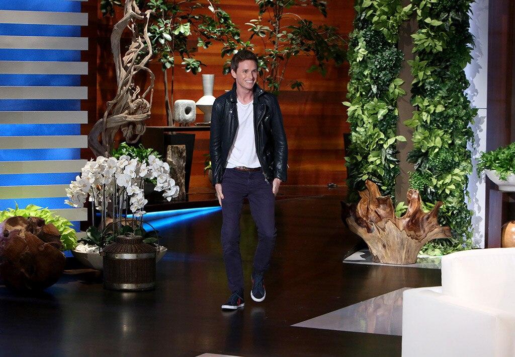 Eddie Redmayne, The Ellen DeGeneres Show