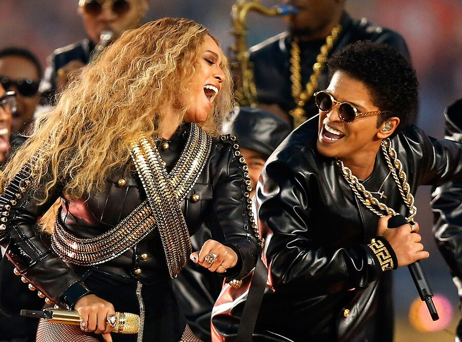 Beyonce, Bruno Mars