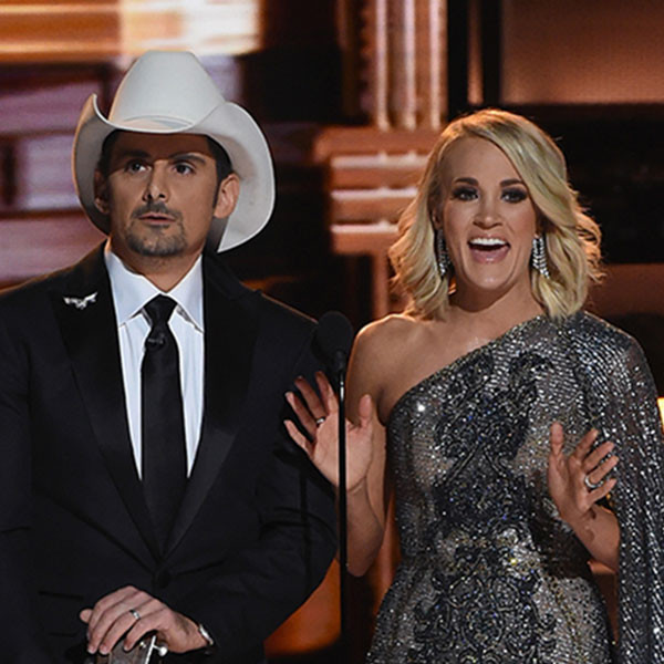 Carrie Underwood, Brad Paisley, 2016 CMA Awards