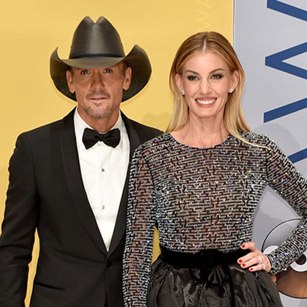 Faith Hill, Tim McGraw, 2016 CMA Awards
