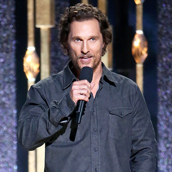 Matthew McConaughey, 2016 CMA Awards