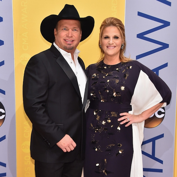 Garth Brooks & Trisha Yearwood From Red Carpet Couples At