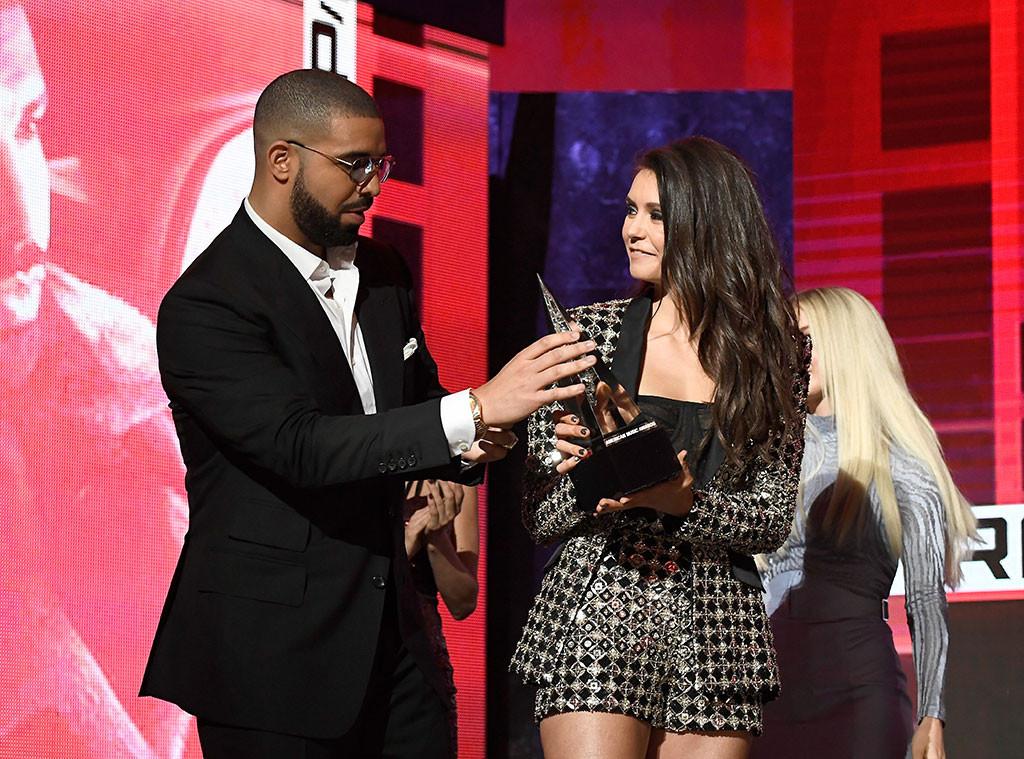 Drake, Nina Dobrev, AMAs, American Music Awards