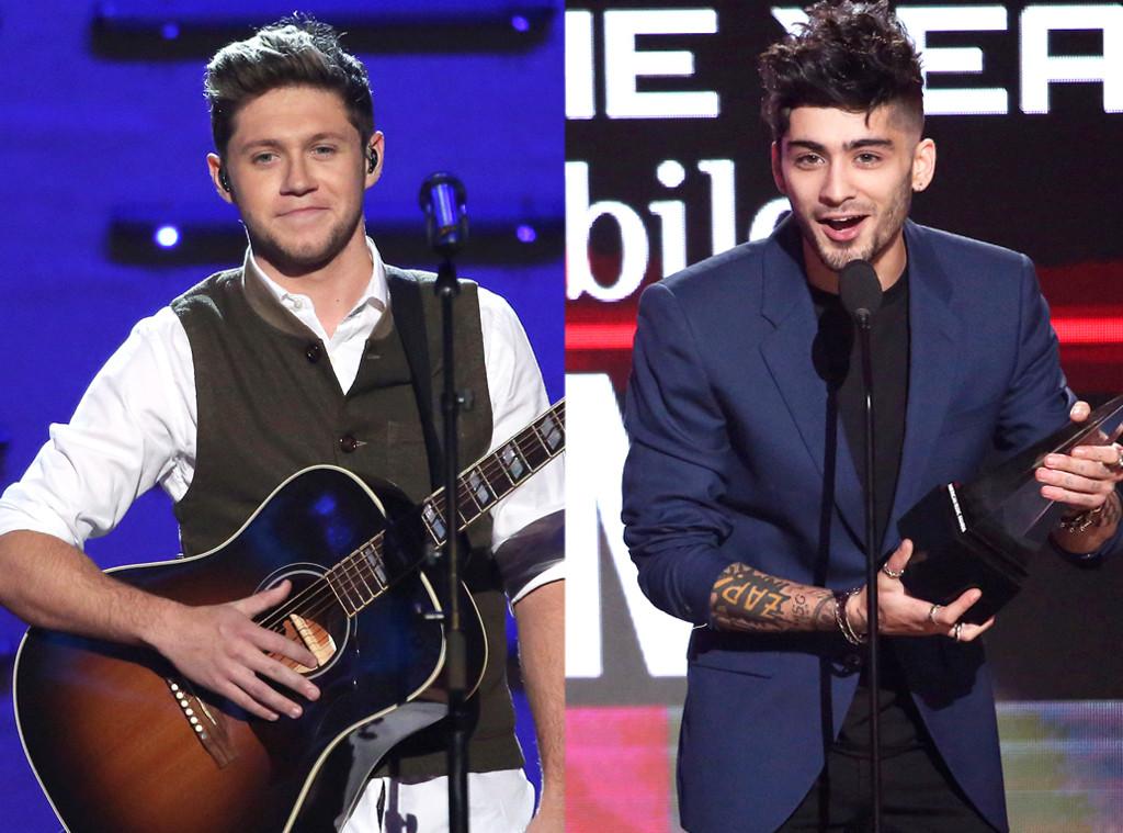 Niall Horan, Zayn, AMAs, 2016 American Music Awards