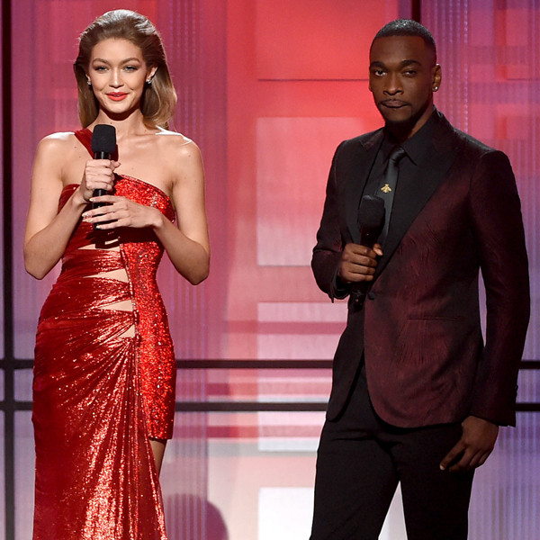 Gigi Hadid and Jay Pharoah's AMAs Opening Monologue Included a Melania Trump Impression and an Impromptu Song