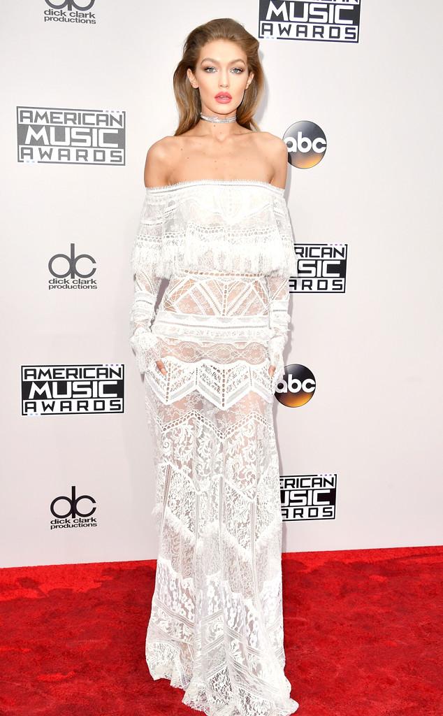 Gigi Hadid, AMAs, 2016 American Music Awards, Arrivals