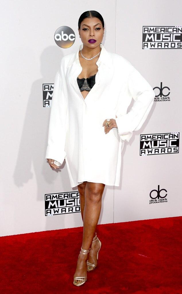 Taraji P. Henson, AMAs, 2016 American Music Awards, Arrivals