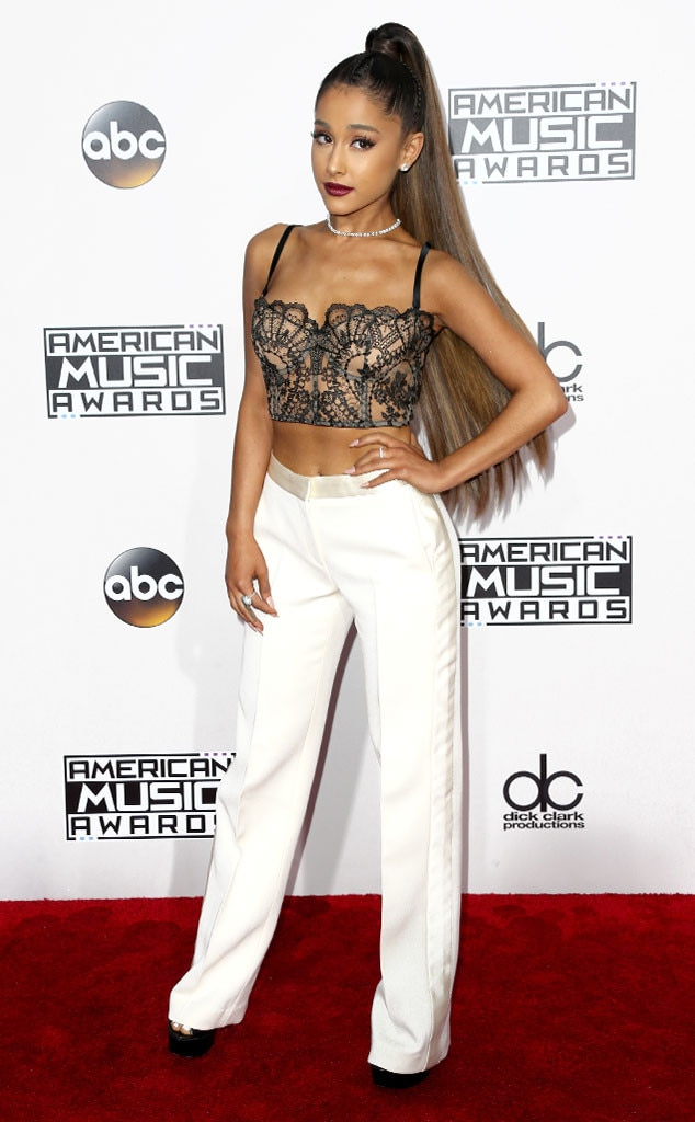Ariana Grande, AMAs, 2016 American Music Awards, Arrivals