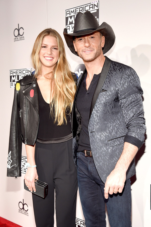 Tim mcgraw and his teenage daughter maggie enjoy family for How old are tim mcgraw and faith hill s kids