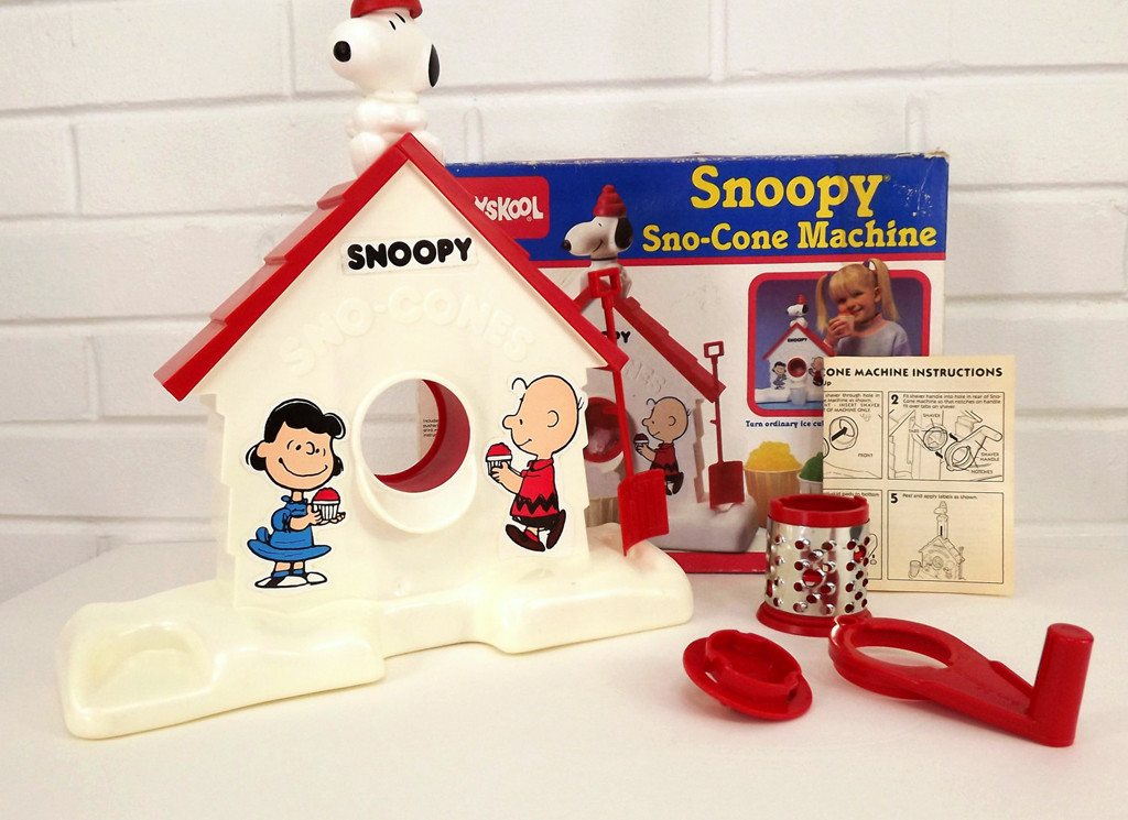 80s Things You Can Still Buy Today, Snoopy Sno-Cone Machine