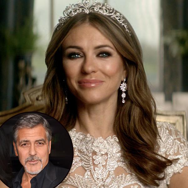 The Royals, Queen Helena, Elizabeth Hurley, George Clooney