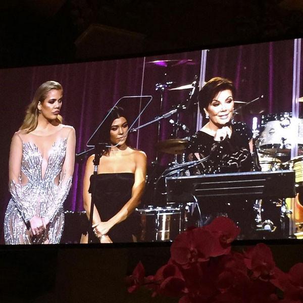 Kim Kardashian Skips Angel Ball While Kris Jenner, Khloe and Kourtney Kardashian Honor Late Robert Kardashian