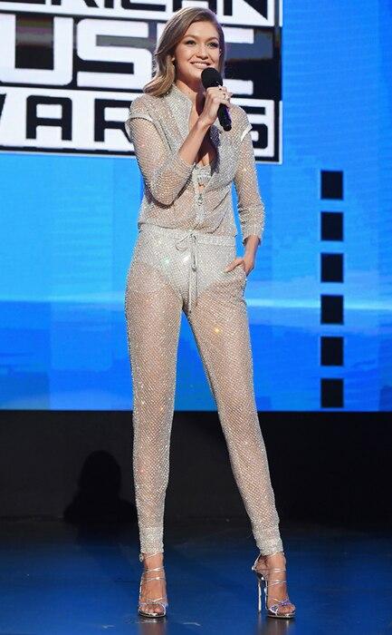 ESC: Gigi Hadid, AMAs, 2016 American Music Awards, Best Dressed