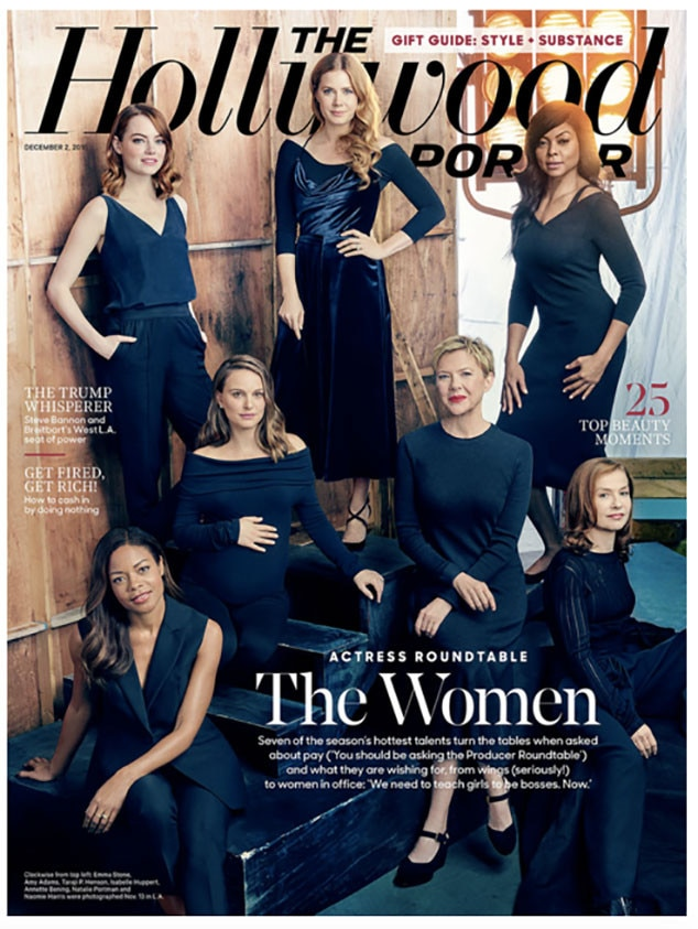 The Hollywood Reporter 2016 Actress Roundtable