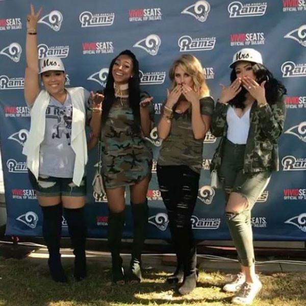 Hollywood & Football, Sabrina Britt, Asia Saffold, Kila Reynolds, Danielle Kendricks
