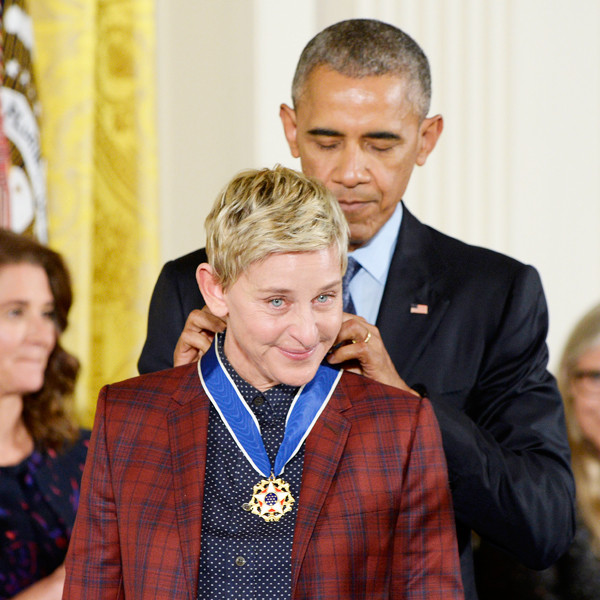 President Barack Obama, Ellen Degeneres