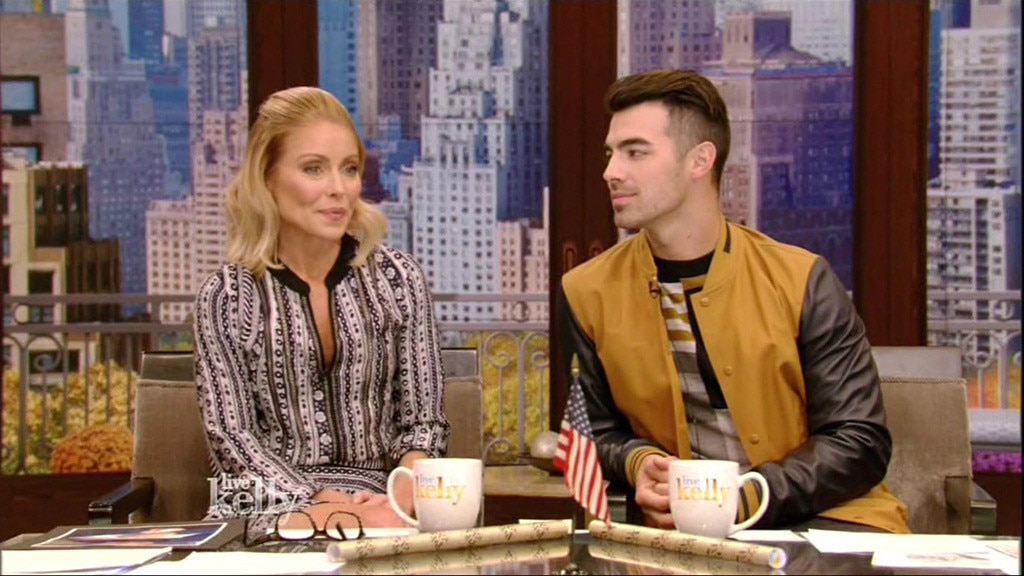 Kelly Ripa, Joe Jonas