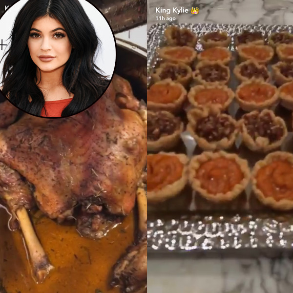 Kylie Jenner Friendsgiving