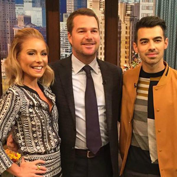 Kelly Ripa, Joe Jonas