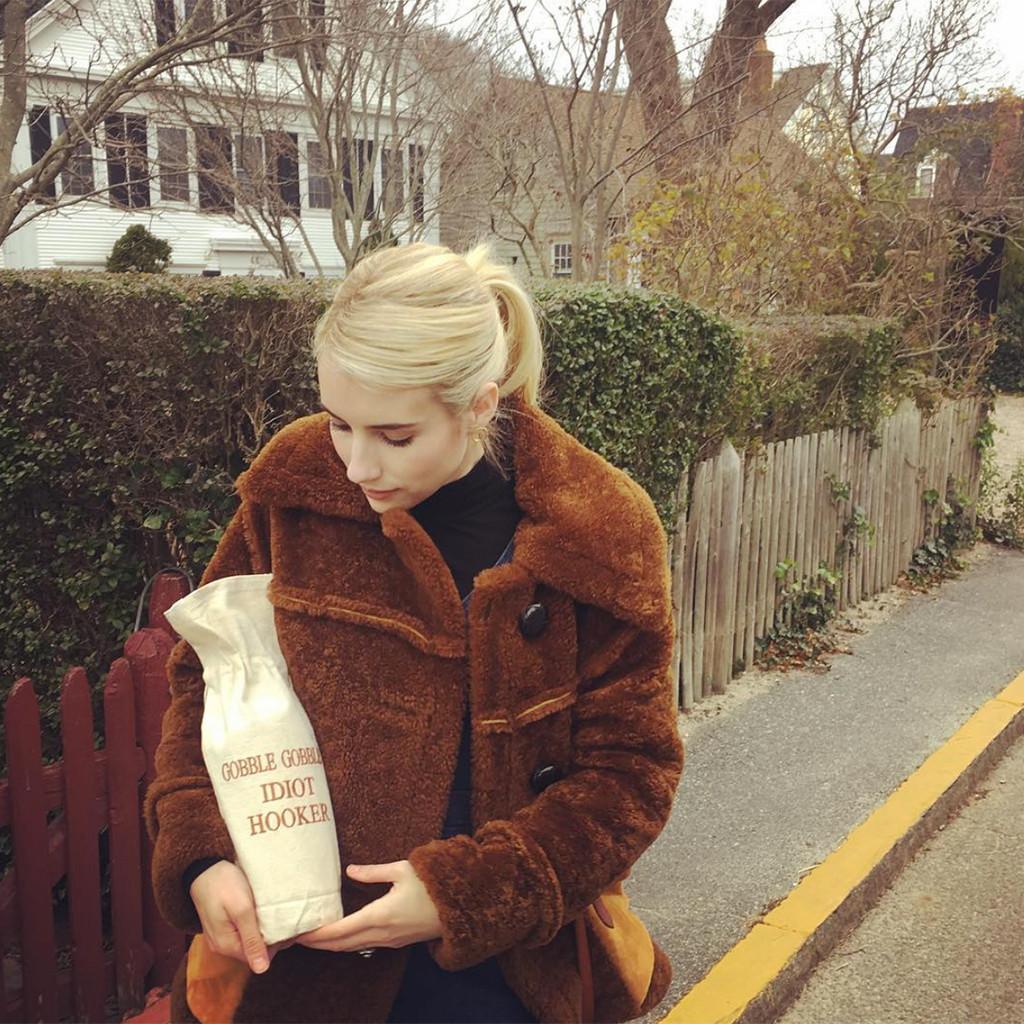 Emma Roberts, Instagram