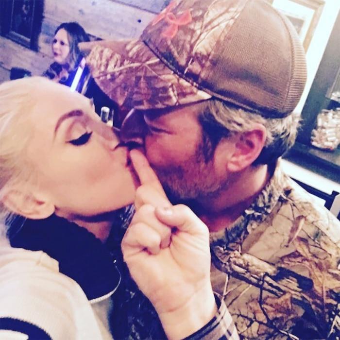 Gwen Stefani, Blake Shelton, Thanksgiving, Instagram