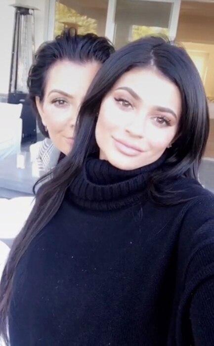 Kylie Jenner, Kris Jenner, Thanksgiving