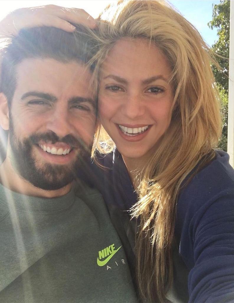 Shakira, Gerard Pique, Instagram