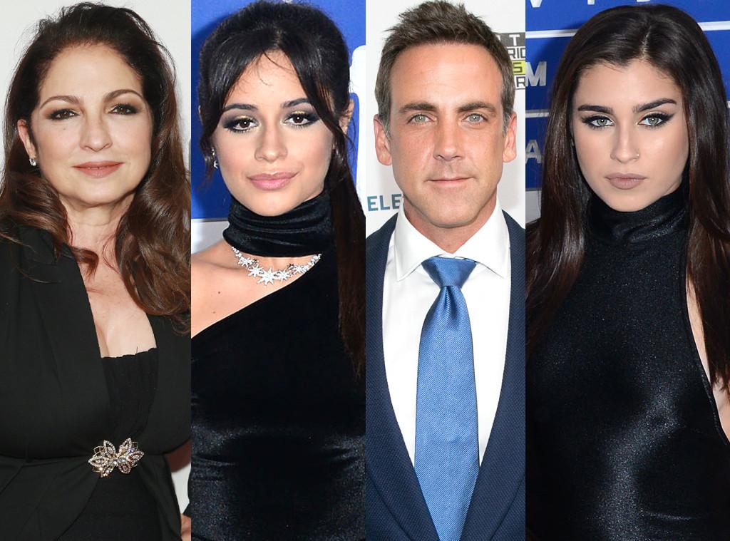 Camila Cabello, Lauren Jauregui, Gloria Estefan, Carlos Ponce