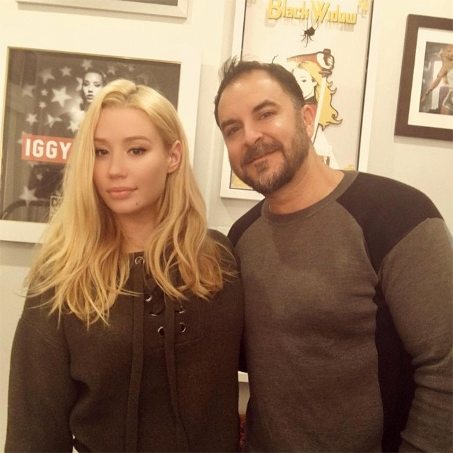 Iggy Azalea loves her plastic surgeon