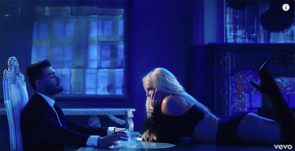 Britney Spears, Sam Asghari, Slumber Party