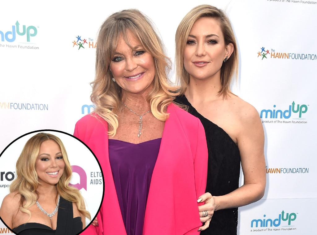 Mariah Carey, Kate Hudson, Goldie Hawn