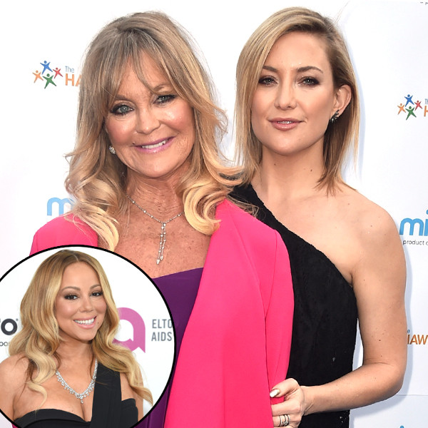 Mariah Carey, Kate Hudson, Goldie Hawn