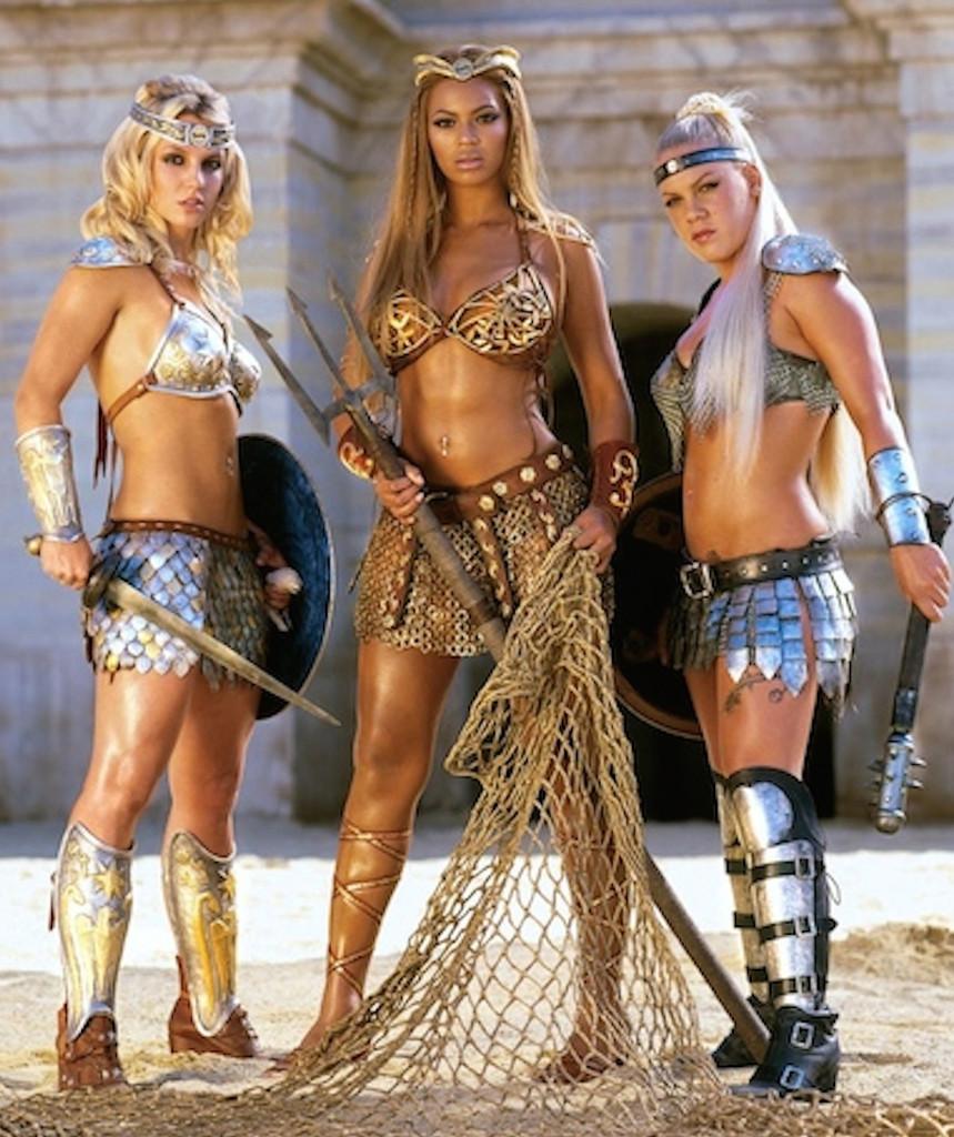 Beyonce, Britney Spears, Pink, Pepsi Ad 2004