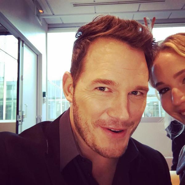 Chris Pratt's Best Press Tour Moments on Instagram