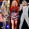 Carrie Underwood, Miranda Lambert, Taylor Swift